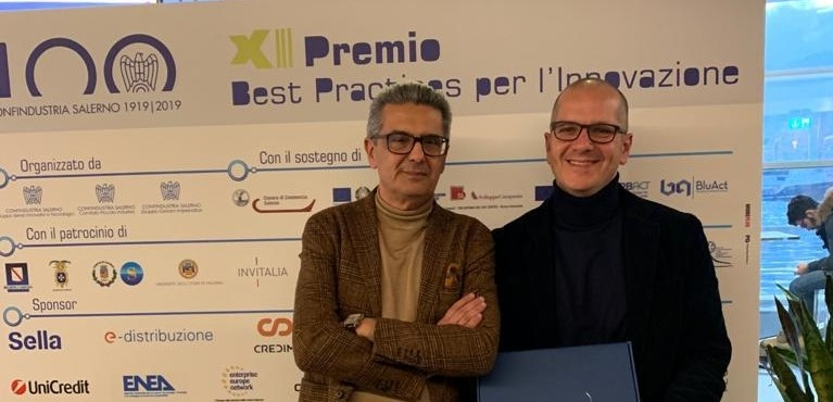 ARGO sul podio del Premio Best Practice di Confindustria Salerno