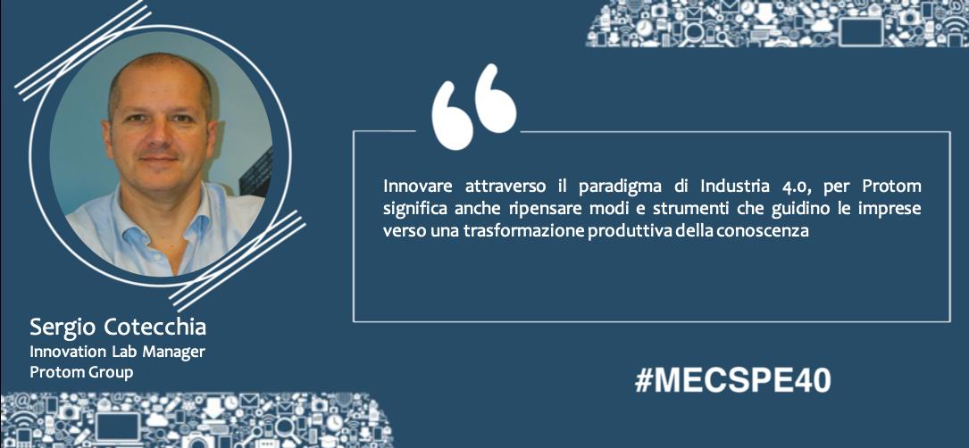 Protom all'Osservatorio MECSPE focus Campania:  le PMI volano all'insegna dell'innovazione e della trasformazione digitale