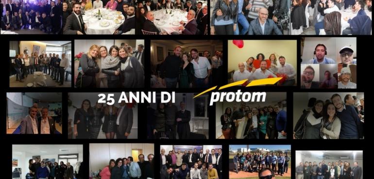 25 anni di Protom