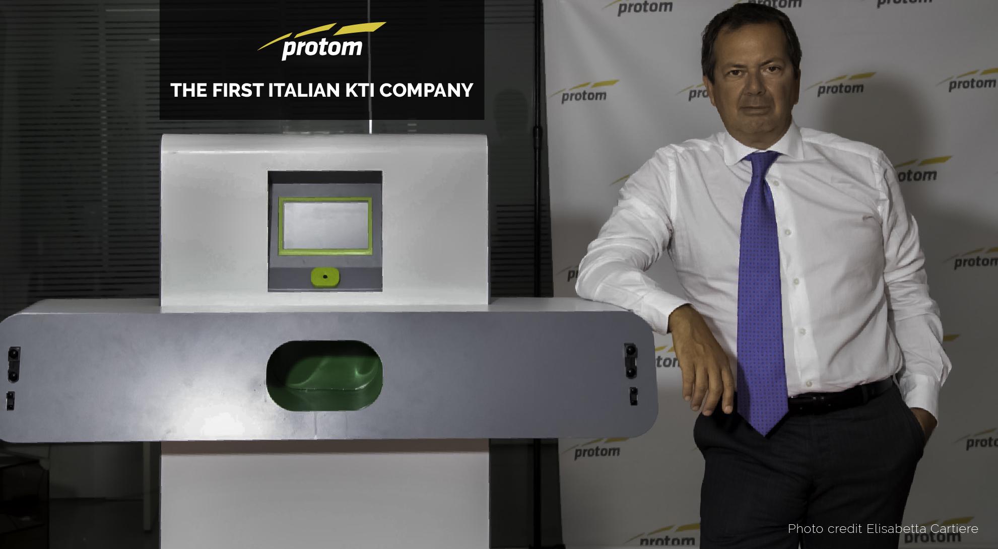 """Innovazione, """"Premio dei Premi 2020""""  doppio riconoscimento per Protom"""